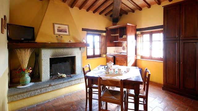 Respira la naturaleza más pura en un típico hotel agroturismo de Umbría