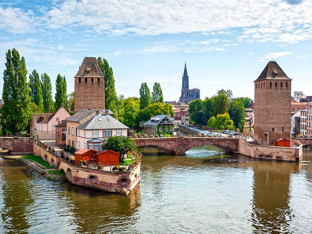 Séjour Alsace - Week-end découverte à Strasbourg en studio supérieur