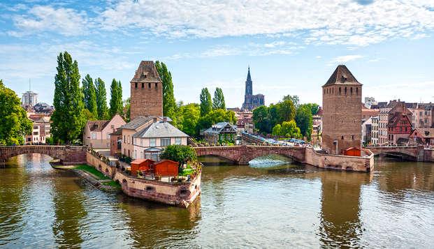Week-end découverte à Strasbourg en studio supérieur
