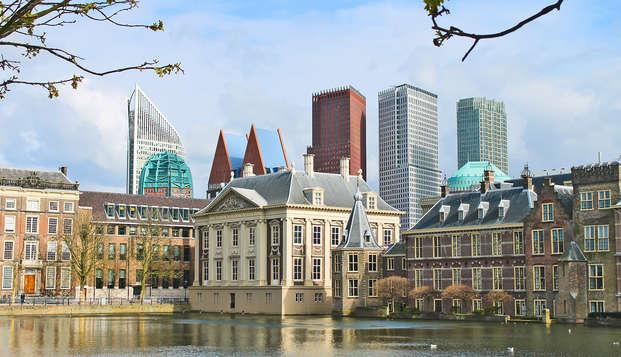 Encantadora estancia llena de lujo en la ciudad internacional de La Haya