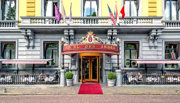 Alójate en este precioso hotel de cinco estrellas en el centro de La Haya