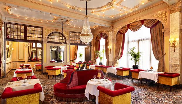 Lujo, elegancia y delicias culinarias en un hotel 5* en La Haya