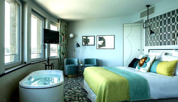 Week-end en chambre Prestige à Dinard