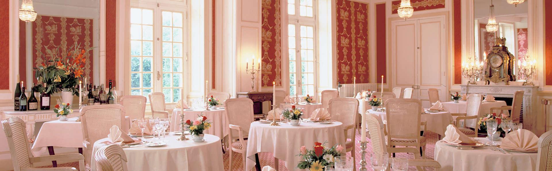 Dîner gourmand et séjour au château, sur les bords de Saône