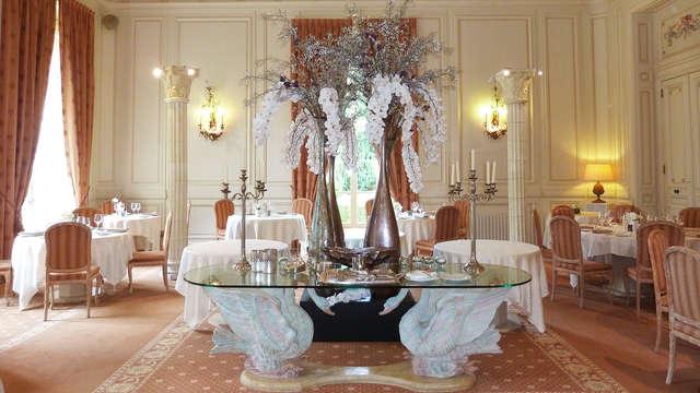 Gastronomie dans un château 4 étoiles près de Tours