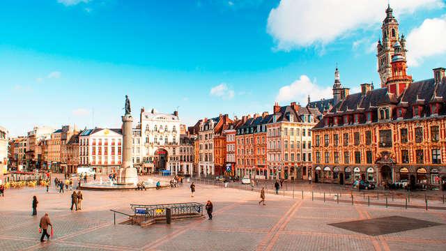 Charme op steenworp afstand van het centrum van Lille
