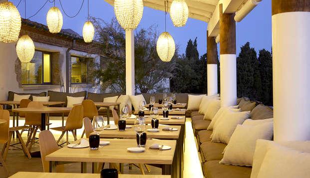 Escapade dans un hôtel unique à Alt Empordà avec dîner spécial