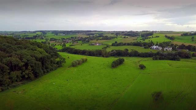 Mini vakantie met panoramisch uitzicht over groene Limburgse vallei (vanaf 2 nachten)