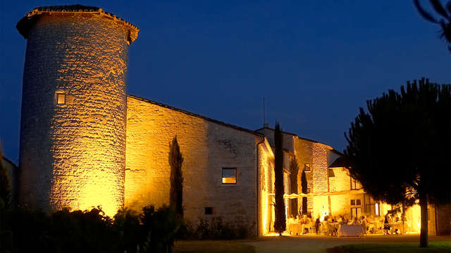 Cata de vino en un castillo del siglo XIII cerca de Albi