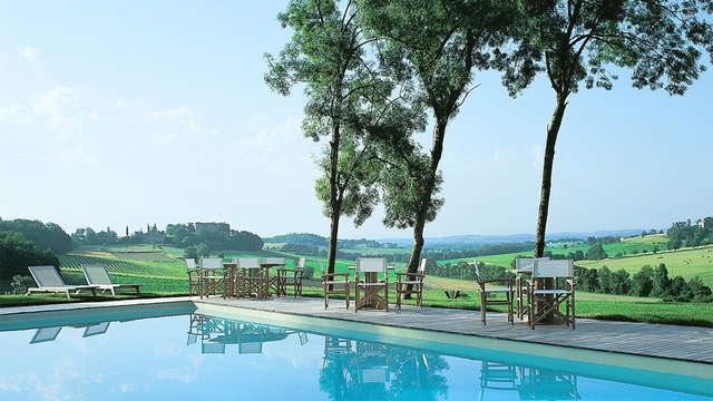 Week-end de charme en suite dans un château au cœur des vignes près d'Albi