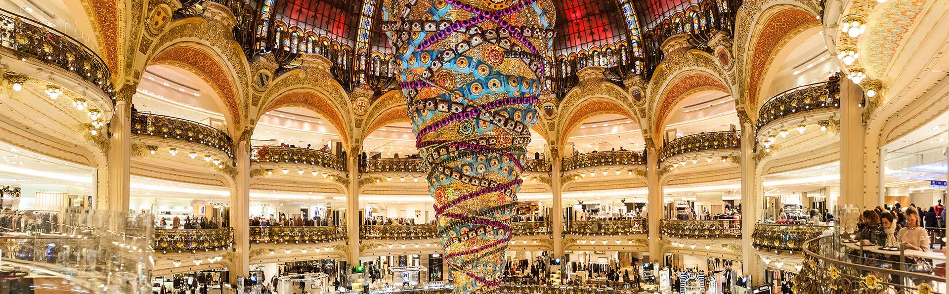 Passez quelques jours à Paris dans un hôtel au cœur des quartiers animés