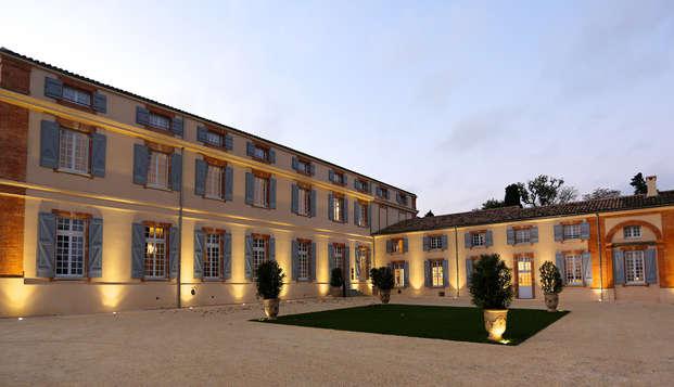 Castillo en la campiña francesa, cerca de Toulouse