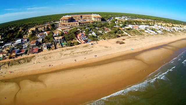 Repos à deux pas de Huelva en Andalousie dans un confortable appartement avec un enfant gratuit