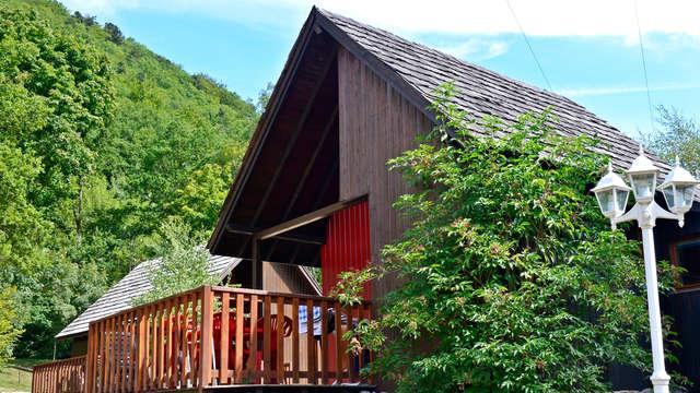 Week-end détente dans un chalet en Alsace (jusqu'à 4 personnes)