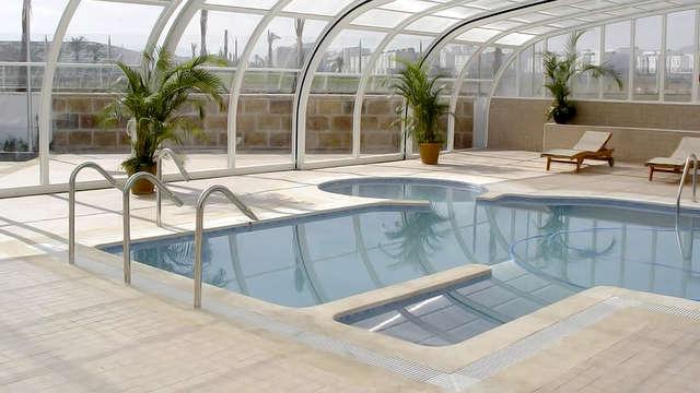 Alójate en un resort en Cabo de Gata, en pensión completa, con spa ilimitado y un niño gratis