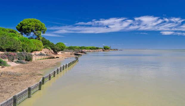 Descubre el parque nacional de Doñana y alojate en un hotel con spa incluido