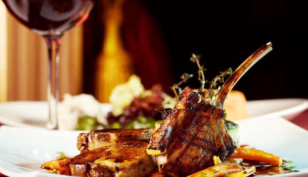 Charme in Lussemburgo con cena inclusa