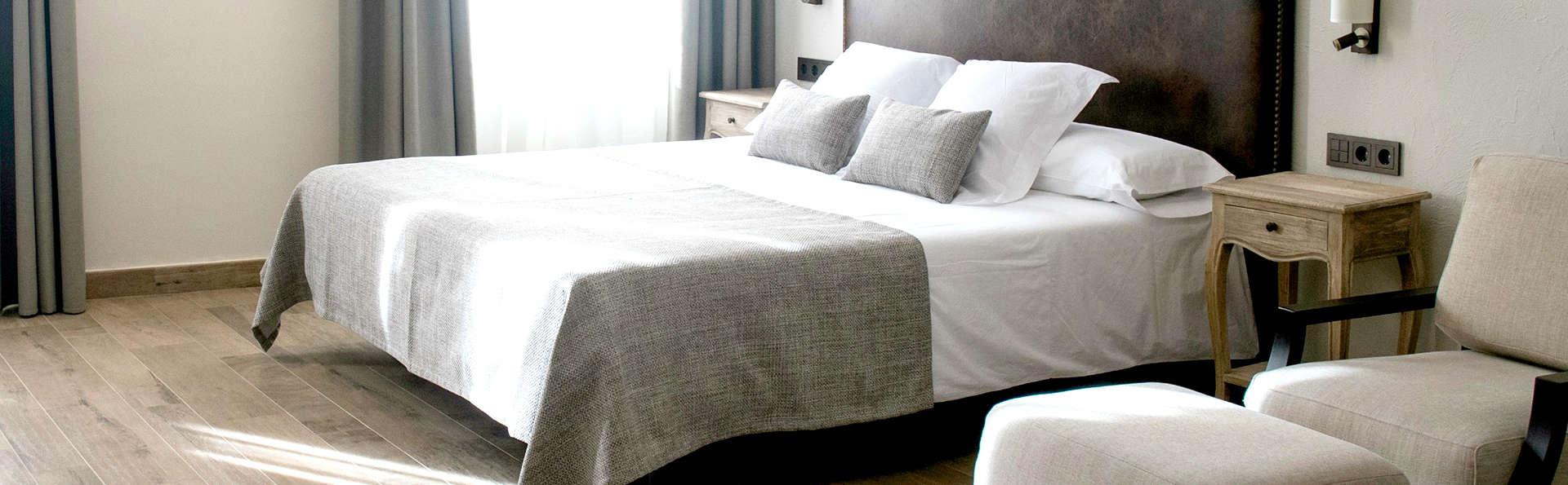 Romantisme 4* dans un bel hôtel à Arenys de mar en Catalogne