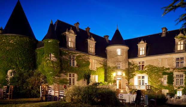 Escapada romántica con cena gastronómica en el corazón del Périgord Verde