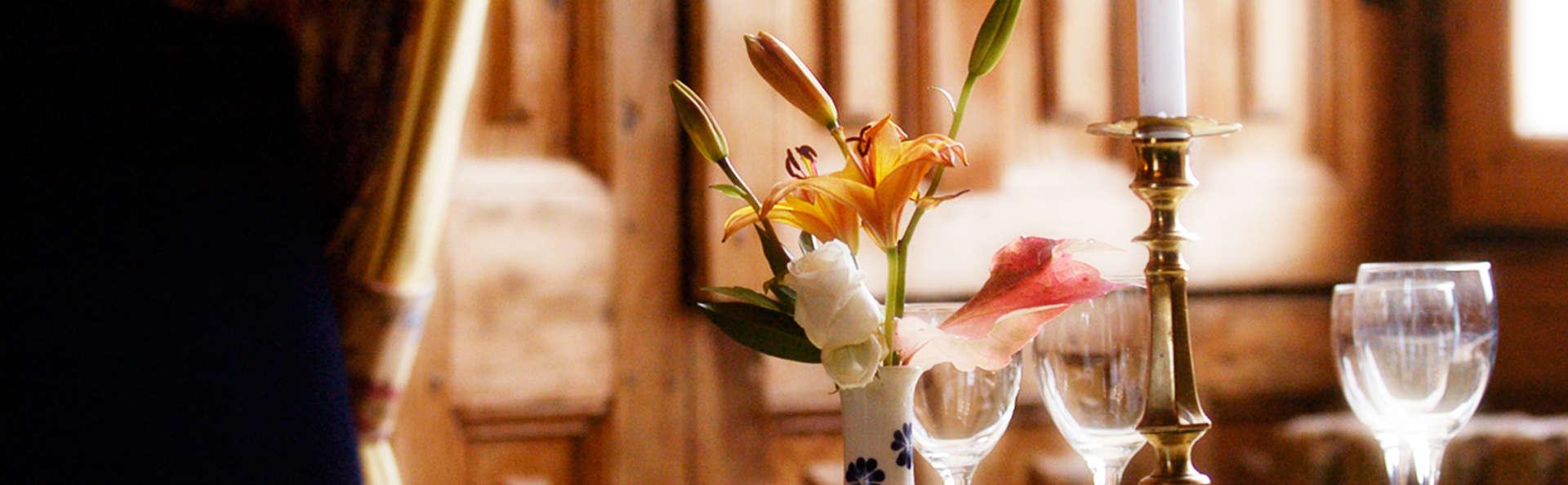 Week-end romantique avec dîner gastronomique au coeur du Périgord Vert