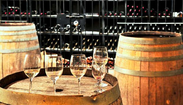Oferta especial: escapada a un castillo de los viñedos de Burdeos, con visita a bodega y degustación