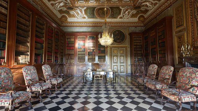 Alojamiento en habitación superior con entrada al Palacio de Vaux-le-Vicomte