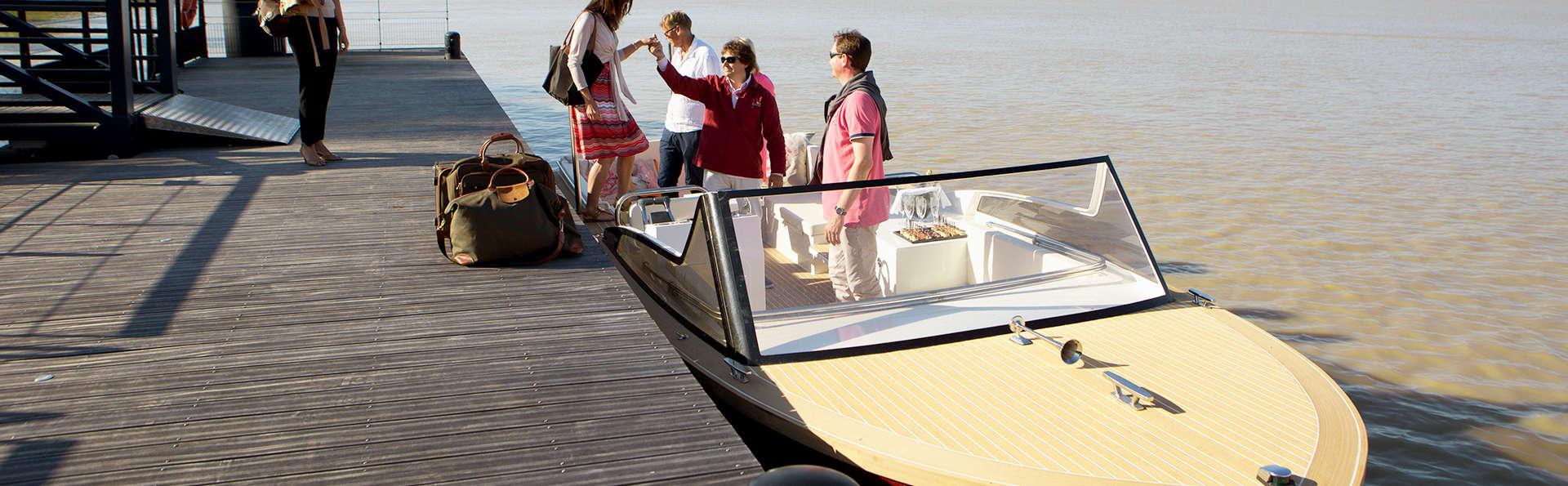 Week-end dans un château, avec promenade en bateau, à la découverte de Bordeaux