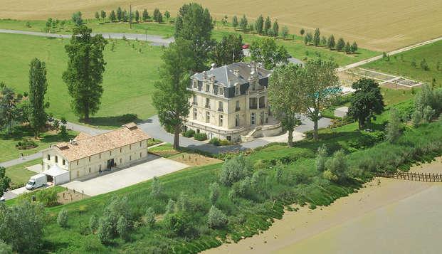 Week-end dans un château aux portes de Margaux et de Bordeaux